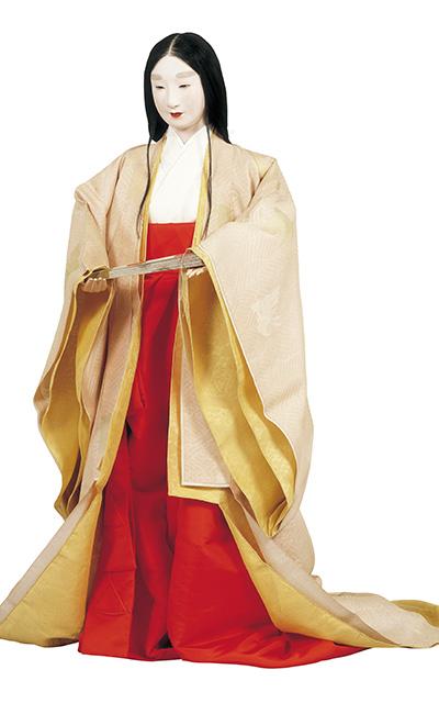 公家女房夏の褻の装い | 日本服飾史