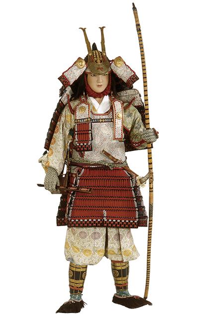 大鎧をつけた武将 | 日本服飾史